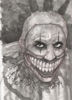 Twisty The Clown American Horror Story by ChrisOzFulton