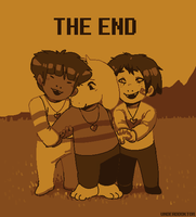 i love alternate endings by UndeadDoktor
