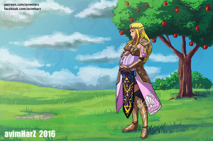 Commission: Zelda by avimHarZ