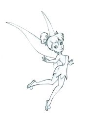 Tinkerbell Commission +sketch+ by 77Shaya77