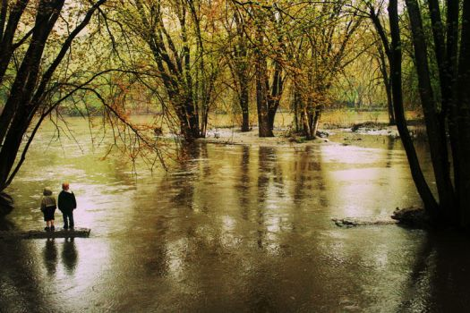 high river by FigoTheCat
