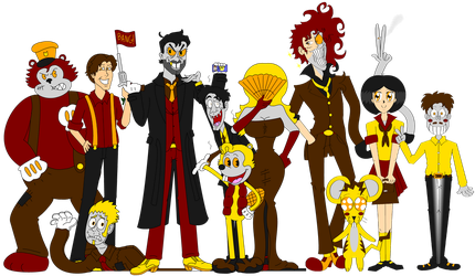 The Loony Citizens from Inkieville by LUVKitty13