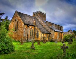 Chastleton Church by s-kmp