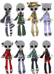 .:Adopted:. Outfit Batch 07 by DevilAdopts