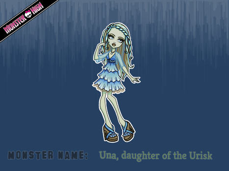 MH : Una, daughter of the Urisk by katelouise84