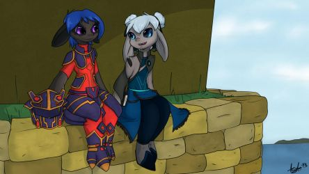 Asura Couple by KyteTheFox