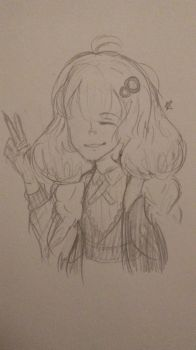 i cant believe i actually drew her by searose04