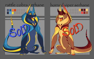 Serhane - Adoptables [CLOSED] by VanyCat