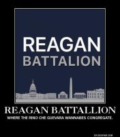 The Reagan Battalion Demotive by mrbill6ishere