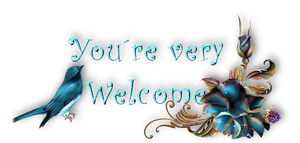 You are very Welcome with Birds by Jassy2012