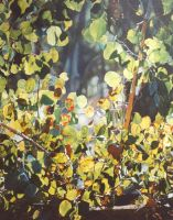 Foliage  60x48 inch Oil Painting by AstridBruning