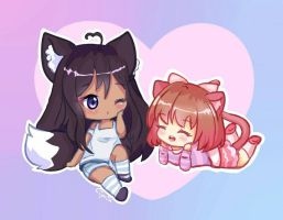 chibi comission  by Ciipria