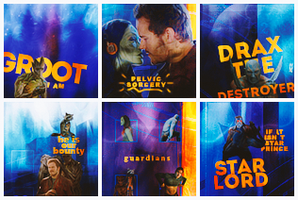 Guardians of the Galaxy    Movie Icons by 1jabberjay