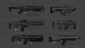 Near Future Weapon Concepts 01 by S-H-0-D-A-N