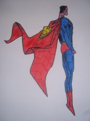Colored Superman by SkWho22