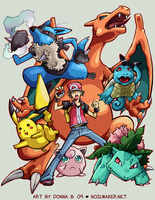 SSBBrawl: Pokemon Team by karniz