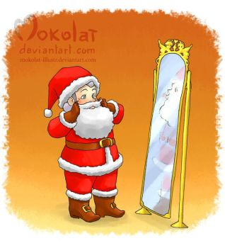 Le Pere Noel a disparu! by Mokolat-Illustr