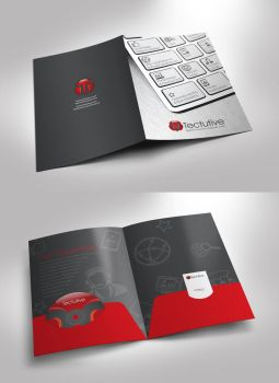 Tectutive Company Folder by IAKhan