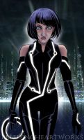 Tron Legacy: Quorra by BleedingHeartworks