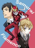 Samurai Flamenco by SiruBoom