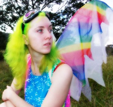 Fluoro Fairy 7 by monstatofu2011