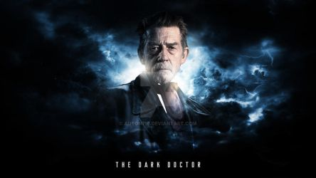 John Hurt Wallpaper - 'The Dark Doctor' by Auton710