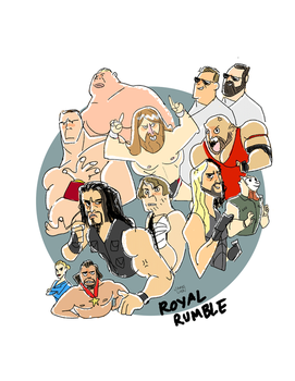 Royal Rumble 2015 by fooshigi