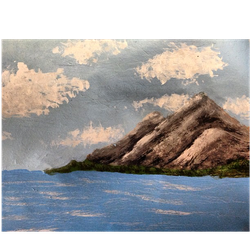 Mountain Painting by shroomstone