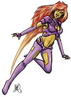 Starfire Redesign by Coyotzin