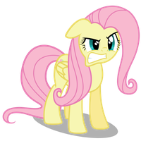 Fluttershy Is Not Your Friend by robzombiefan2121