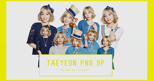 TaeYeon MIXXO 9P PNG by vul3m3