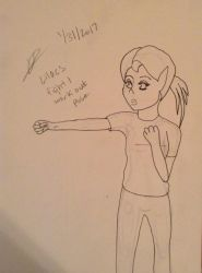 Lilacs fight pose by Pudgester95