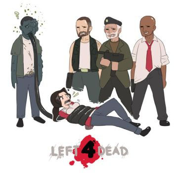 Left 4 Dead by blackbookalpha
