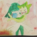 I tried watercolorssss by MeowMix72