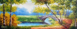 The Stone Bridge - Arteet by Arteet