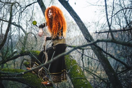 Merida - A perfect day BRAVE cosplay by shua-cosplay
