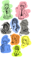 Soul Eater Crew - 4 years later by KeksFanxXx