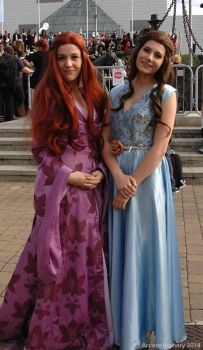 Sansa Stark and Margaery Tyrell by ArcaneArchery