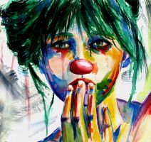 Portrait of a Clown VI full by sythesite