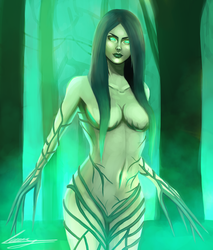 The Lady of the Forest by AnnaVselennaya