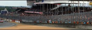 Le Mans Start 2011 Panorama by DaveAyerstDavies