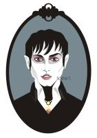 Marvellous, horrifying... Barnabas Collins by AleksandraTorbina
