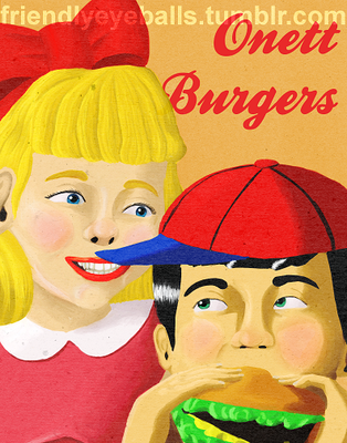 Onett Burgers by Psykeout