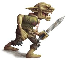 DS: Monsters - Goblin by willowWISP