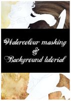 Watercolour tutorial - Liquid mask + Background by wind-hime-kaze