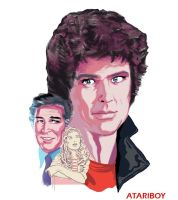 Knight Rider 2600 Label Color by Atariboy2600