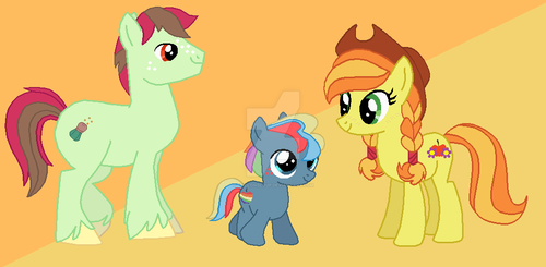Updated Carajack Family by Brillonsloup