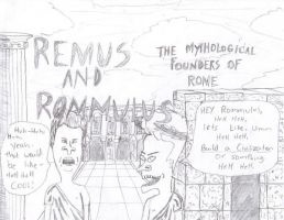 Remus and Rommulus by grenztruppen