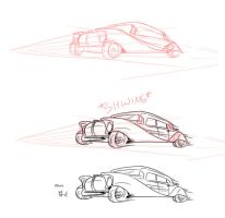 Process of a car by ThirdPotato
