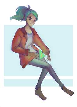 Alex oxenfree by Daryfy